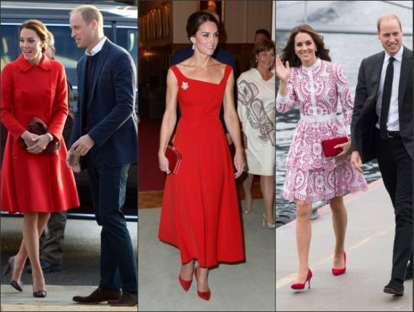 3 robes rouges en 3 jours! Canada Kate !
